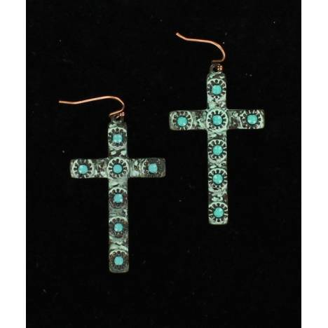 Blazin Roxx Cross Earrings