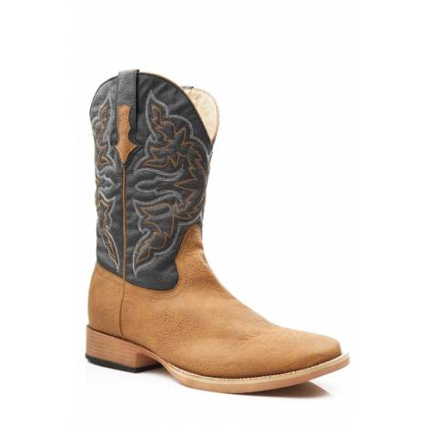 Roper Cowboy Classic Wide Square Toe Western Boot- Men's