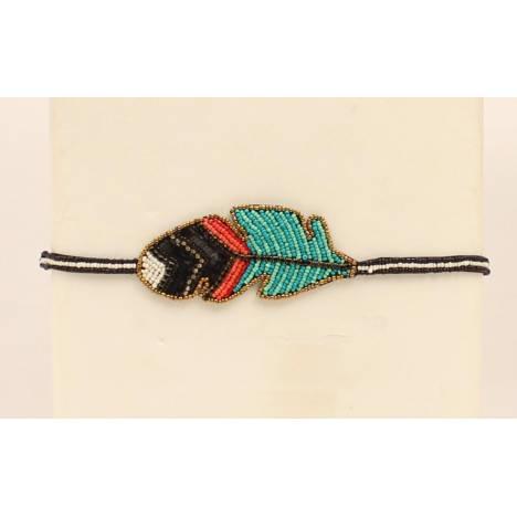 Blazin Roxx Feather Headband
