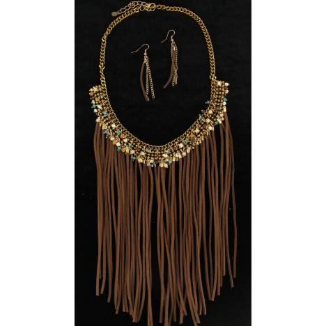 Blazin Roxx Fringed Jewelry Set