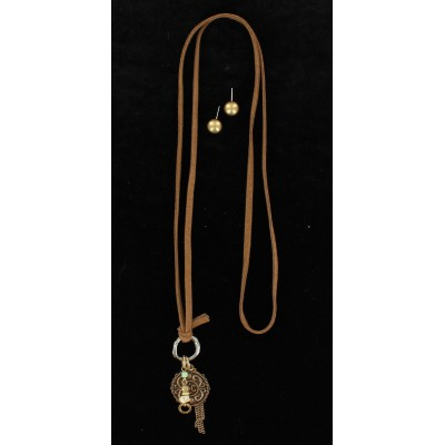 Blazin Roxx Knotted Cross Jewelry Set