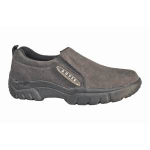 Roper Performance Sport Suede Slip On Shoe- Men's