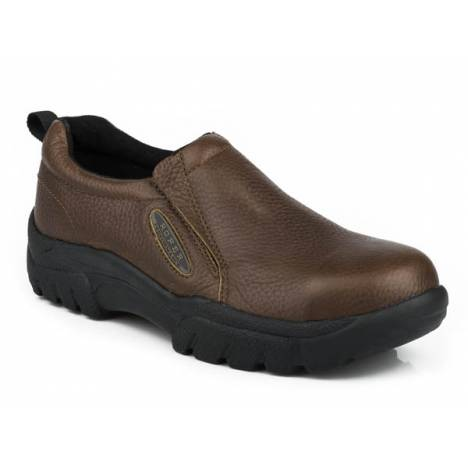 Roper Performance Steel Toe Slip On Casual Shoe- Men's