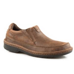 Roper Powerhouse Slip On Casual Shoe- Men's