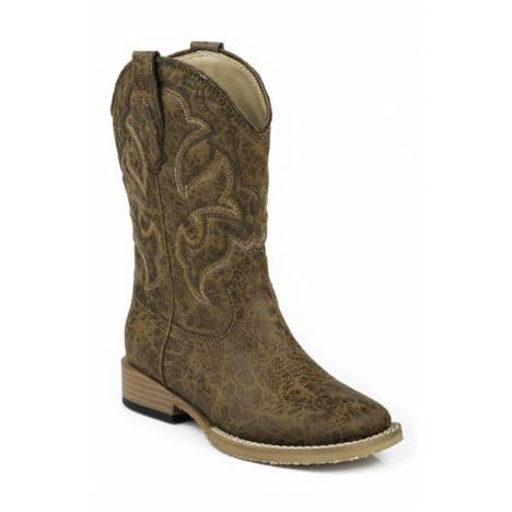 Roper Scout Square Toe Western Boot- Boy's
