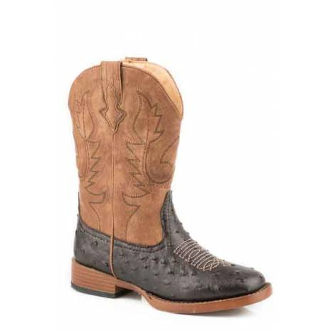 Roper Cowboy Cool Square Toe Western Boot- Boy's