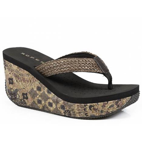 Roper Arizona Wedge Sandal- Ladies