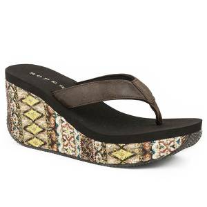Roper Gina Wedge Sandal-  Ladies