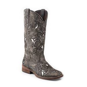 Roper Belle Square Toe Western Boot- Ladies