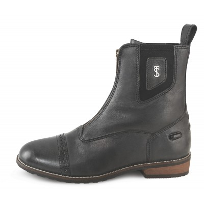 Tredstep Spirit Wax Front Zip Front Paddock Boots