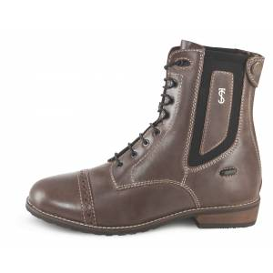 Tredstep Spirit Wax Lace Rear Zip Paddock Boots