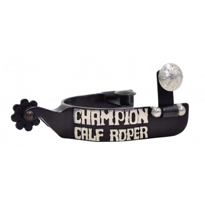 Metalab Youth Champion Calf Roper Trophy Spur
