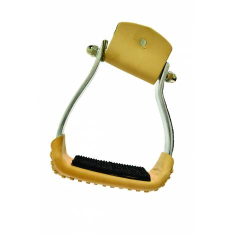 Metalab Slanted Aluminim Stirrup with Rubber Pad