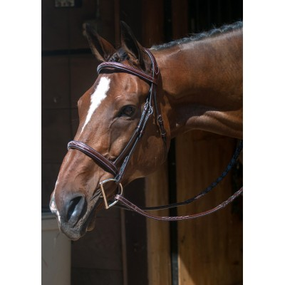 Nunn Finer Verona Bridle With Crank Noseband