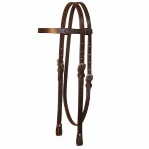 Circle Y Single Ply Browband Headstall