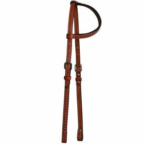 Circle Y Spot Accent One Ear Headstall