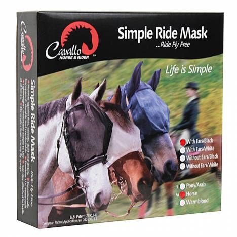 Cavallo Simple Ride Mask - With Ears