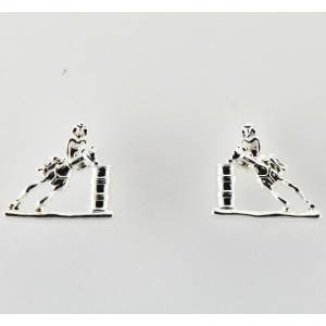 Western Edge Barrel Racer Earrings
