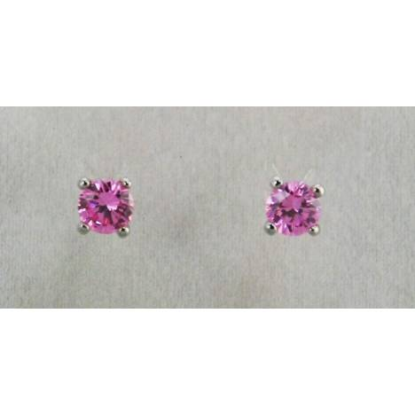 Western Edge Zirconia Crystal Stud Earrings
