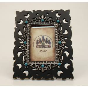 Scroll Stone Picture Frame