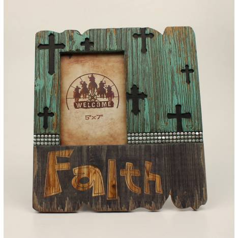 Faith Crosses Frame