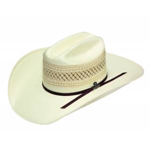 Ariat 20X Woven Straw Western Hat- Men's