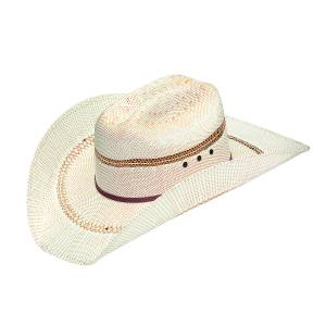 Ariat Cattleman Crown Bangora Straw Western Hat- Men's
