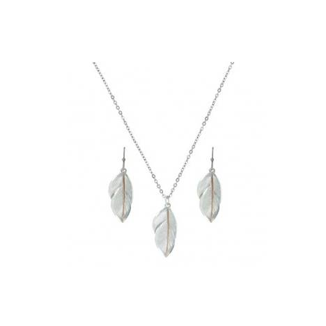 Montana Silversmiths Downy Feather Jewelry Set