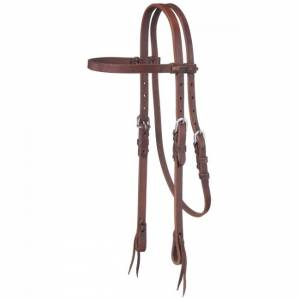 Tough 1 Premium Harness Browband Tie End Headstall