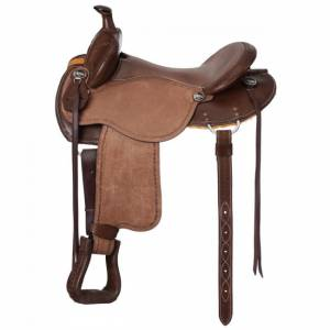 Tough 1 Brisbane Roughout Saddle with Horn Deluxe Package