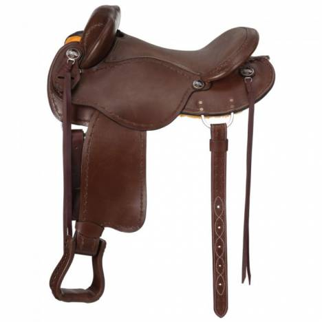 Tough 1 Brisbane Trail Saddle with Horn Deluxe Package
