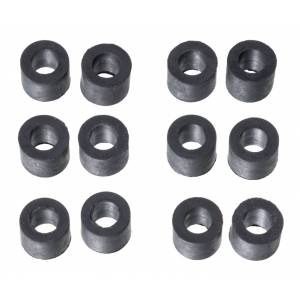 Tough 1 Rubber Bands For Buckles - 12 Pack