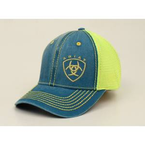 Ariat Shield Offset Ball Cap - Ladies