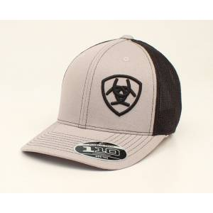 Ariat Offset Logo Flex Fit One Ten Ball Cap - Mens