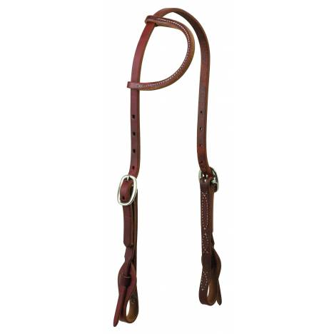 Weaver Working Cowboy Quick Change Sliding Ear Headstall