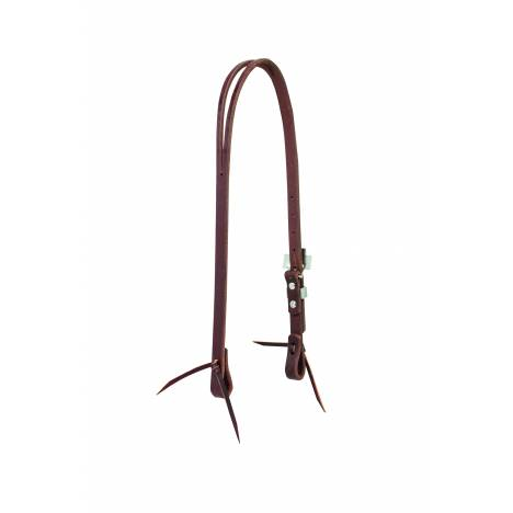 Weaver Working Cowboy Slit Ear Cross Headstall