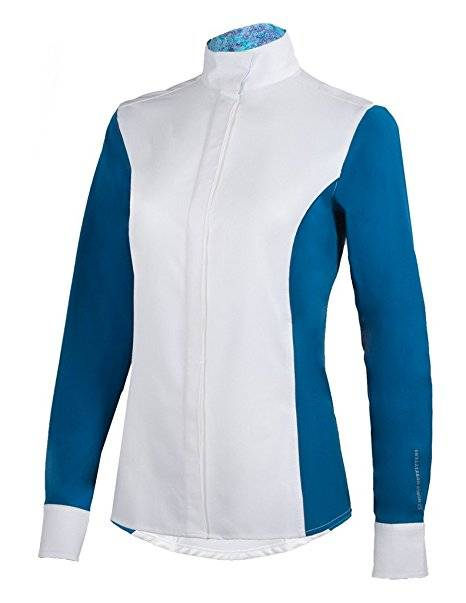 Noble Outfitters Madison Show Shirt White//Seaport Small