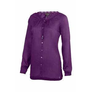 Noble Outfitter Ladies Charmer Peasant Top