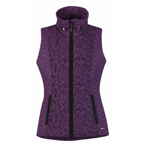 Kerrits Horse Play Quilted Vest- Ladies