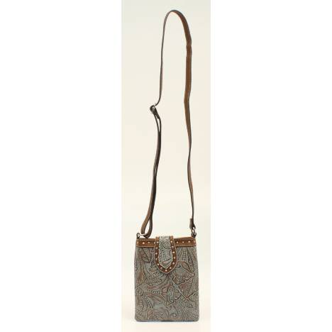 Nocona Tessa Embossed Nailhead Crossbody