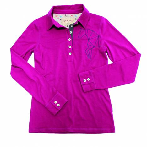 Horseware Cara Long Sleeve Polo - Ladies