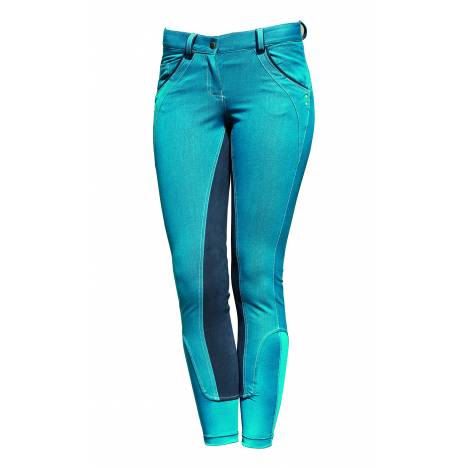 Horseware Self Seat Denim Breech - Ladies