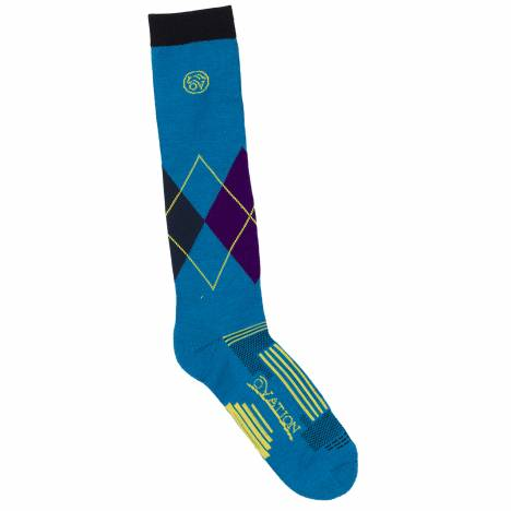 Ovation Argyle DX Knee High Sock- Ladies