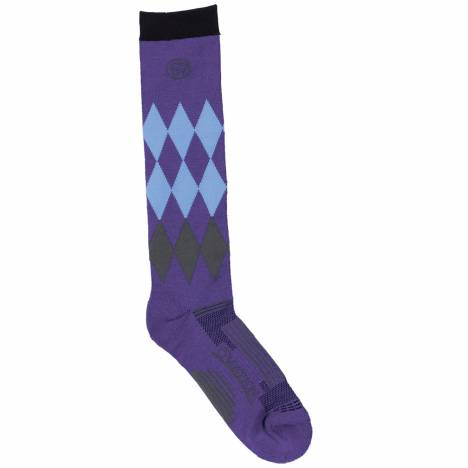 Ovation Harlequin DX Knee High Sock- Ladies
