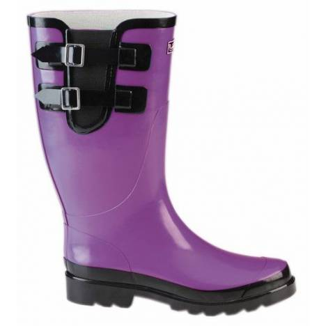 Muck Boots Classic Double Strap Puddleton - Ladies - Purple