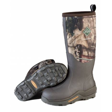 Muck Boots Woody Max Boots - Mens - Bark Mossy Oak Country