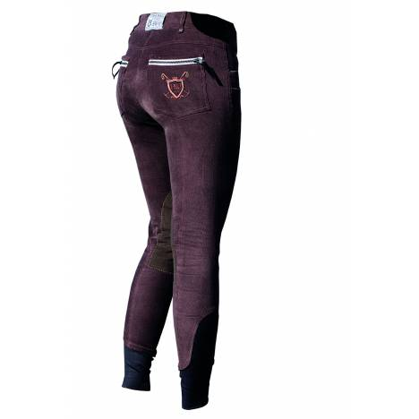 Horseware Polo Nina Corded Breeches - Ladies, Knee Patch