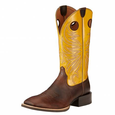 Ariat Sport Rider Boots - Mens - Wicker/Yellow