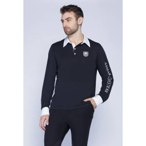 Asmar Classic Long Sleeve Polo - Mens