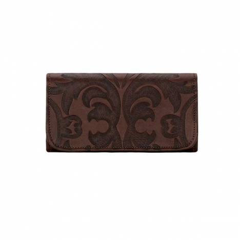 American West Baroque Tri-Fold Wallet- Ladies